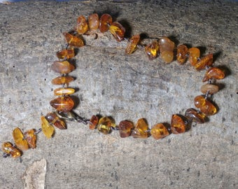 B5 - natural amber bracelet