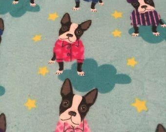 Boston terrier blanket