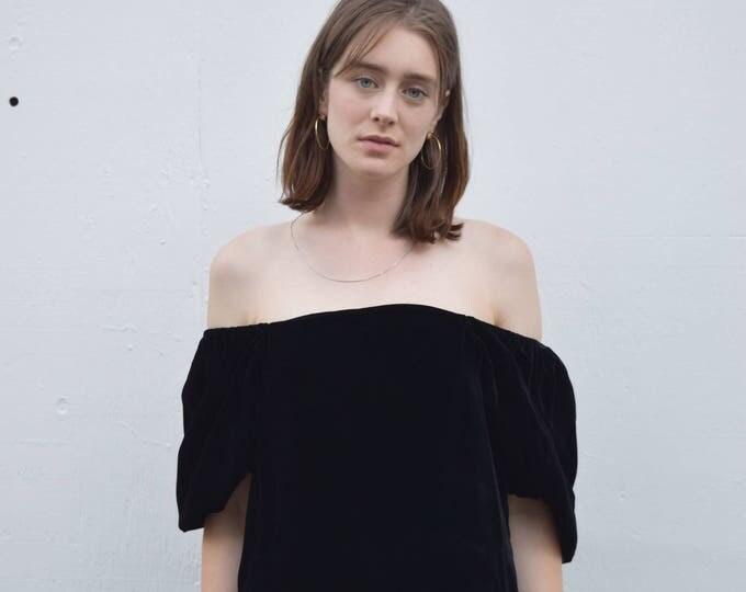 Caitlyn Off-Shoulder Dress.