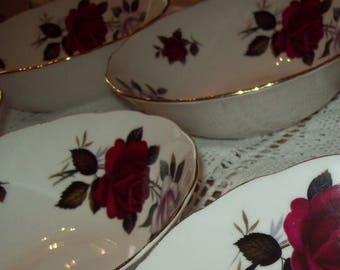 Colclough bone china bowls.