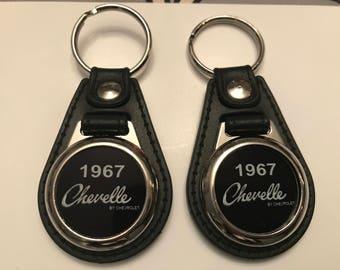 1967 CHEVY CHEVELLE keychain set