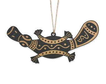 Platypus Christmas Ornament