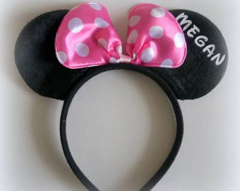 Brand new-LIMITED QUANTITY Custom Personalized Mickey Disney ears!