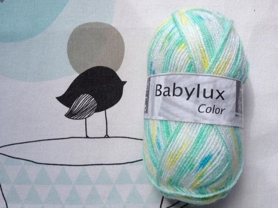 WOOL BABYLUX COLOR spring - white horse