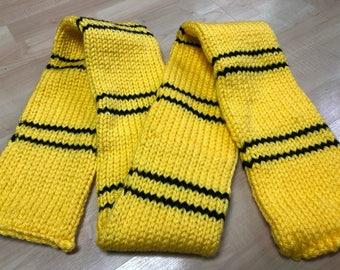 Hufflepuff classic scarf