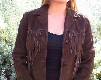 BUYBYE20OFF Pioneer Wear of Albuquerque Fringe Jacket