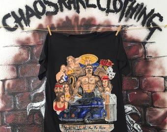 Vintage 90s Mafia Gangster Graphic Tshirt