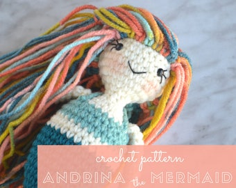 Andrina the Mermaid - Crochet Pattern