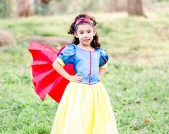Snow White Costume/ Snow White Dress/ Snow White Princess Inspired dress