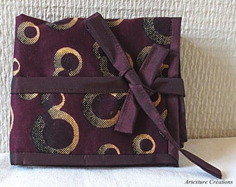 Clutch Dark Violet oils patterns Orange clear/REF PH39