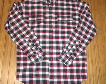 Vintage Polo Country Ralph Lauren Flannel shirt size Medium rare 90s