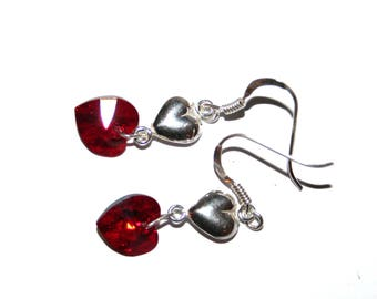 Special St. Valentine's day earrings