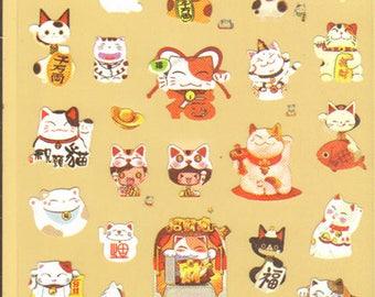 Kawaii! Cute Lucky Cat Stickers