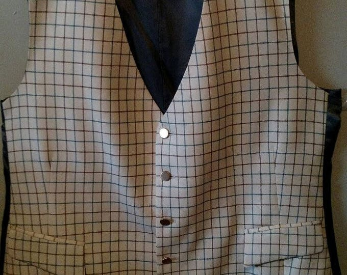Men's RJ Classic Tattersall Vest