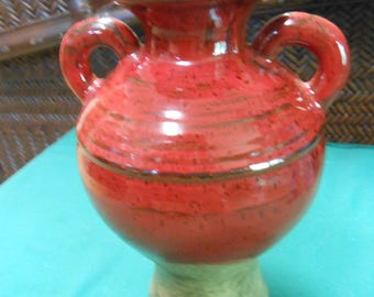 Southern Living at Home...Red Tuscan Pottery Vase