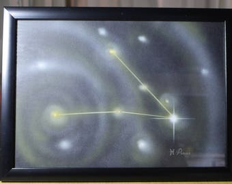 PISCES | Astrological Constellation | Painting
