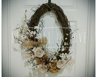 Wreath {Fall Style}