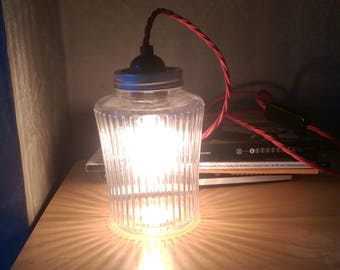 Kilner Jar lamp, table lamp, funky lamps, interior lighting , lights, mason