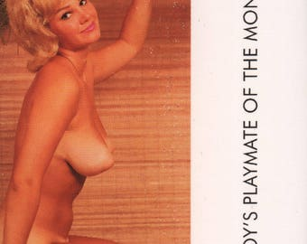 MATURE - Playboy Trading Card March Edt. 1963 - Playmate Centerfold - Adrienne Moreau - Card #30