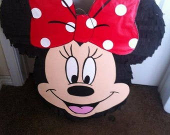 Minnie Mouse or Mickey Mouse piñata