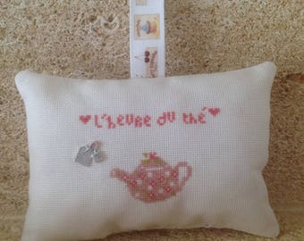 Pillow door or window tea tea bag charm