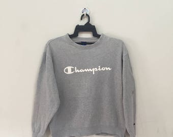 Vintage 90's Championproducts Hoodies Sweatshirt Big Embroidery Spellout // Champion Jumper // Champion Pullover 6oLjx