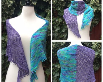 Two Sides of the River - PDF Knitting Pattern