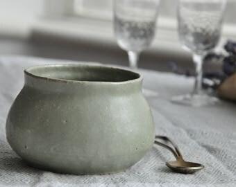 Bowl, Green Bowl, Pottery Bowl, Ceramic Bowl, Handmade Bowl
