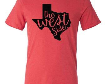 West Side Texas Tech Lubbock T-shirt