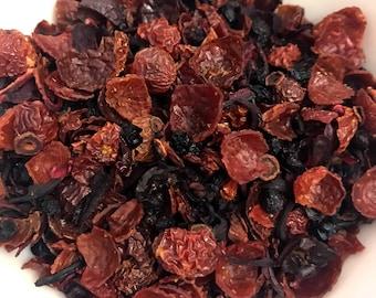 Immune Boost Rose Hips and Hibiscus Loose Leaf Herbal Tea