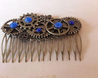 Large steampunk #1 comb