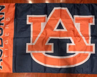 Auburn University 3x5 Feet Outdoor Flag W/Grommets Banner Tigers