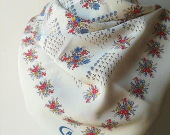 Vintage silk scarf Caruso