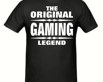 The Original ganing legend men's t shirt,men's t shirt sizes small- 2xl, Slogan t shirt