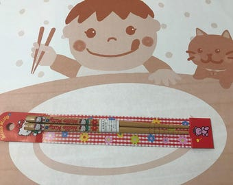 Vintage 1994 Sanrio Hello Kitty Kawaii Chopstick Made in Japan