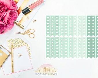 March Checklist Stickers | Planner Stickers designed for use with the Erin Condren Life Planner