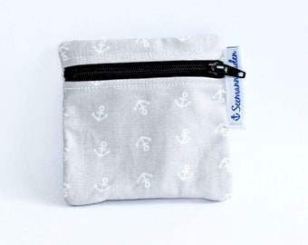 "Mini-bag ""anchor"", grey"