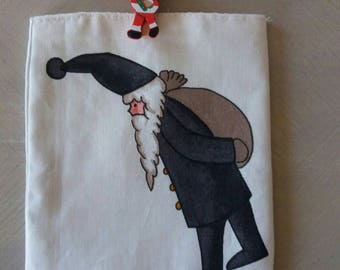 dress handkerchief gift for Christmas and clothespin bag