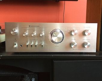 Vintage Kenwood KA-7100 Stereo Amplifier