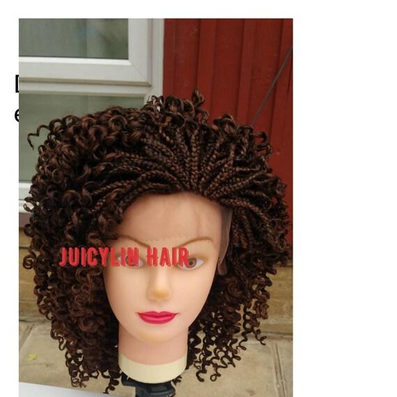 Curly braid wig box braid human hair extensions colour 33 pmusecretfo Choice Image