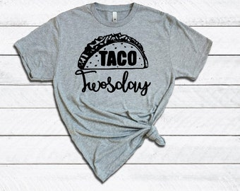 Taco Twosday Iron On Decal| Iron On Decals| Diy Iron On| NEXT DAY SHIPPING!!