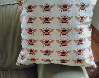 Bumble Bees cushion