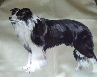 Collie Cushion cover
