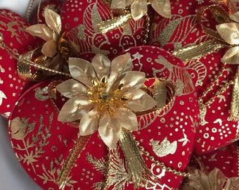 Velvet Ornaments-Bowl fillers.