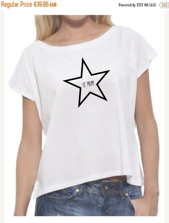 REBAJADO Round neck women t-shirt STAR IT Mum