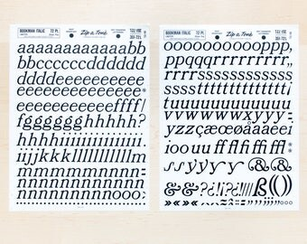 BOOKMAN 72pt Italic Letraset Rub on Letters Transfers Dry Transfer Lettering Serif Letter Sheet Zines Letter Mail Large Fonts Lowercase L173