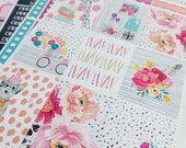 Birthday Bash | Vertical weekly kit | Planner stickers for Erin Condren/ Happy Planner/ A5/ Personal etc Planners  (#ws-BB)