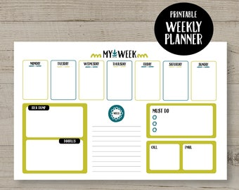 Entrepreneur Planner, Work Day Planner, Business Organiser, Weekly Planner, Business Planner, To Do List
