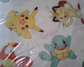 Pokemon Cotton Fabric by the Yard