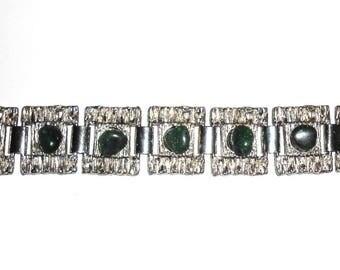 Bracelet with green Aventurine